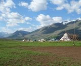 Obóz pasterzy reniferów, czum
