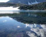 Nasze obozowe jeziorko w ścisłym rezerwacie;)