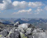 Widok z najwyższego szczytu Uralu