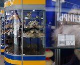 Na lotnisku w Syktywkar można zakupić futro z niedźwiedzia, rysia…