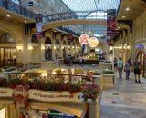 Największa galeria handlowa w Moskwie GUM
