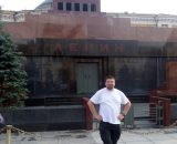 Przed Mauzoleum Lenina