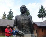 Z przywódcą Leninem