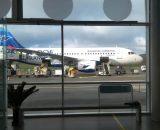 Na Wyspy Owcze dostajemy się farerską linią lotniczą Atlantic Airways