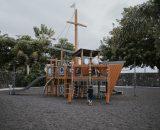 Plac zabaw przy plaży Jardin