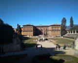 Palazzo Pitti od strony Ogrodu Boboli