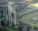 Pozostałości po budowlach rzymskich