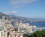 Widok z Ogrodów na Monako